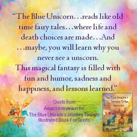 Book Review Quote 5 for The Blue Unicorn's Journey To Osm