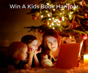 Win a kids reading hamper.