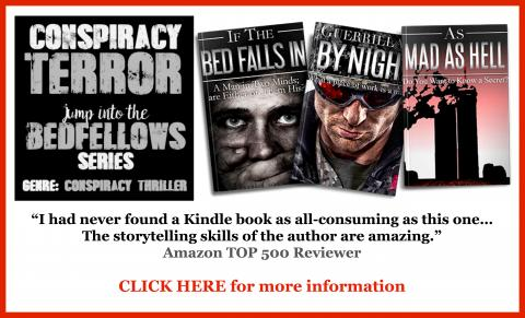 Find out more about Paul Casselle's thriller series