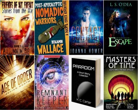 Win March's Sci-Fi Book Bundle Giveaway