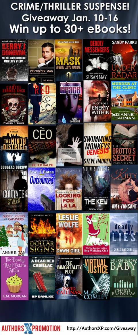 January Thriller Giveaway