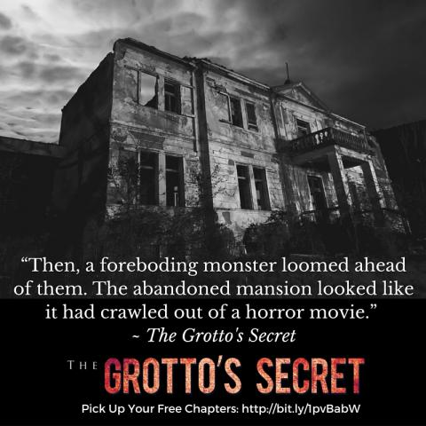 The Grotto's Secret is a historical mystery thriller